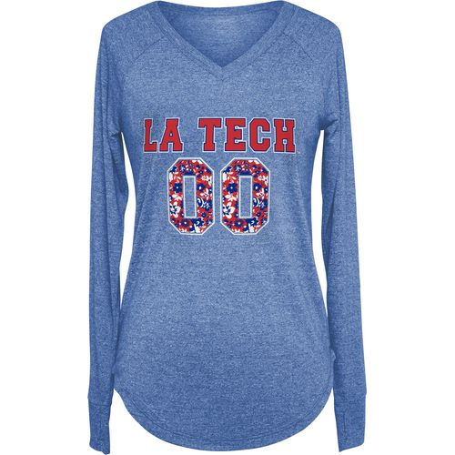 Chicka-d Women's Louisiana Tech University Favorite Long Sleeve T-shirt