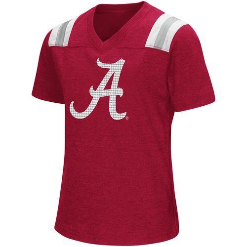 Colosseum Athletics Girls' University of Alabama Rugby Short Sleeve T-shirt