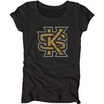 Blue 84 Juniors' Kennesaw State University Mascot Soft T-shirt - view number 1