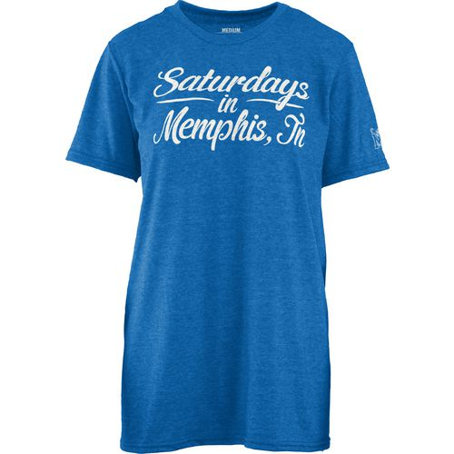 Three Squared Juniors' University of Memphis Saturday T-shirt