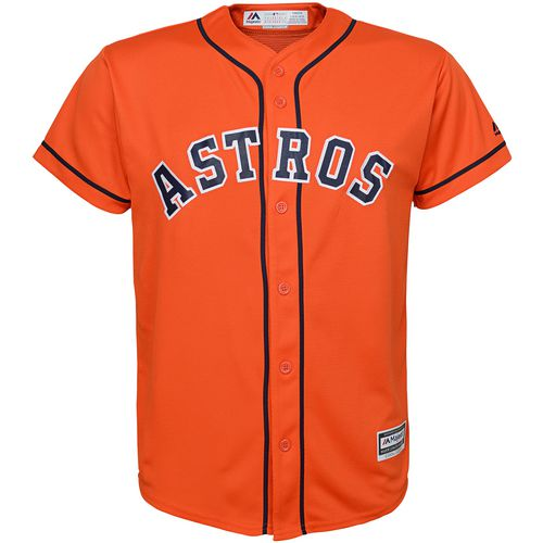 Majestic Boys' Houston Astros COOL BASE Jersey