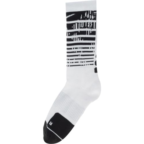 Nike Men's Elite 1.5 Graphic Crew Basketball Socks - view number 3