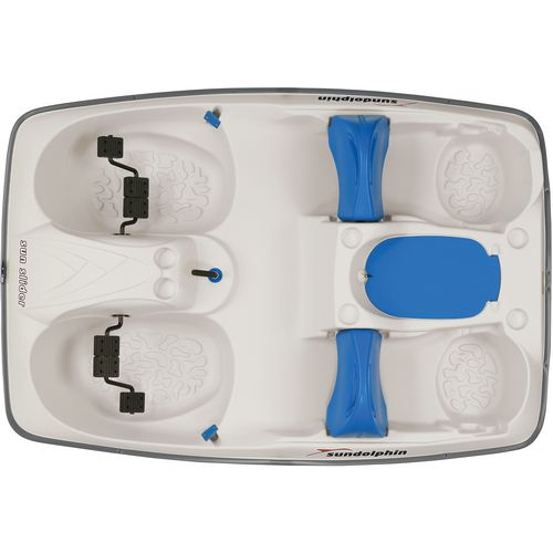 Sun Dolphin Sun Slider 96 in Pedal Boat with Canopy - view number 2
