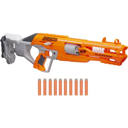 Display product reviews for NERF N-Strike Elite AccuStrike AlphaHawk Blaster