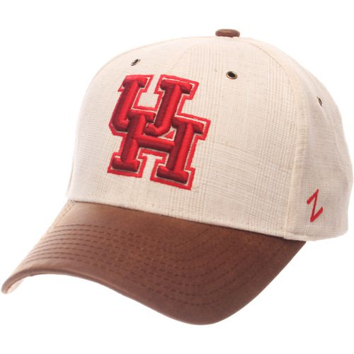 Zephyr Men's University of Houston Havana Curved Bill 2-Tone Cap