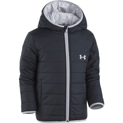 Under Armour Boys' Feature Puffer Hooded Jacket