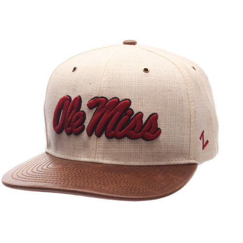 Zephyr Men's University of Mississippi Havana Flat 2-Tone Cap