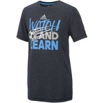 adidas Boys' Watch and Learn Short Sleeve T-shirt - view number 1