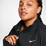 Nike Women's Dry Element 1/2 Zip Plus Size Running Top - view number 7