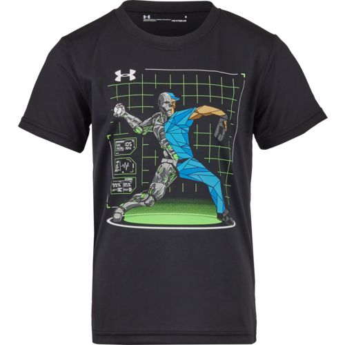 Under Armour Boys' Baseball Hybrid T-shirt