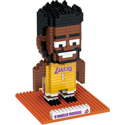 Forever Collectibles Los Angeles Lakers D'Angelo Russell BRXLZ 3-D Player Puzzle