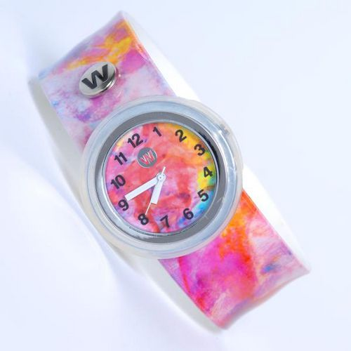 Display product reviews for Watchitude Kids' Colorsplash Slap Watch