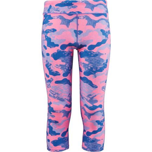 BCG Girls' Printed Compression Capri Pant