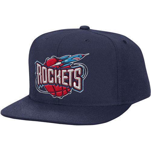 Mitchell & Ness Men's Houston Rockets HWC Solid Snapback Cap