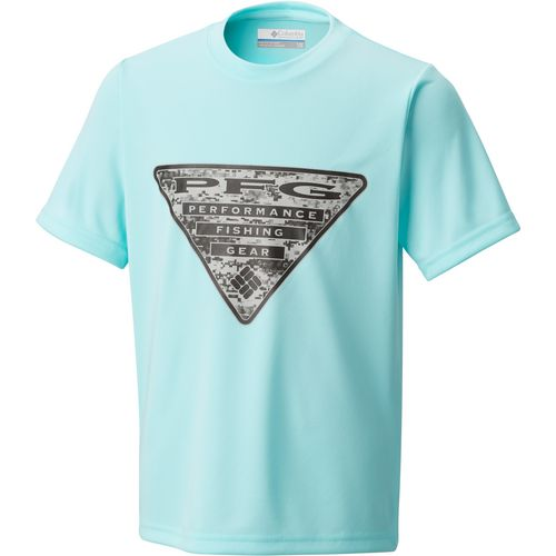 Columbia Sportswear Boys' PFG Triangle Camo T-shirt