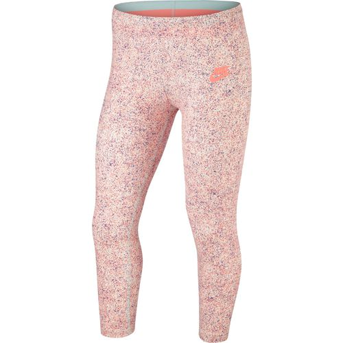 Nike Girls' Favorites AOP4 Crop Leggings