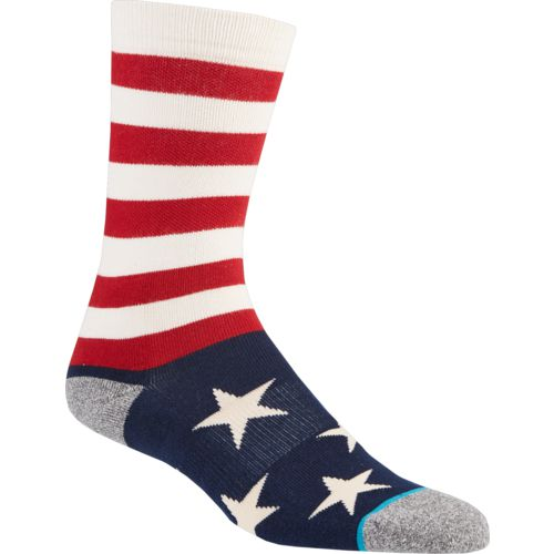 PKWY Men's Houston Astros Memorial Day Brigade Socks - view number 3