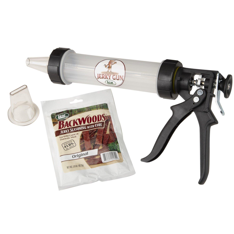 Display product reviews for LEM 0.75 lb. Jerky Gun