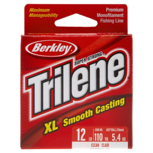 Display product reviews for Berkley® Trilene XL® 110-Yard Pony Spool Fishing Line
