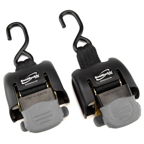 Display product reviews for BoatBuckle® G2 Retractable Transom Tie-Downs 2-Pack