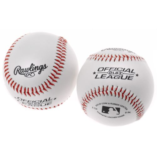 Rawlings® Recreational Use Baseballs 2-Pack