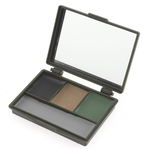 Image for Allen Company 4-Color Camo Face Paint Compact from Academy