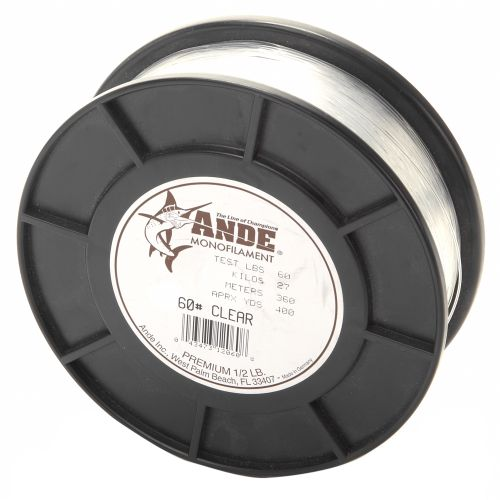 ANDE® Premium 60 lb. - 400 yards Monofilament Fishing Line