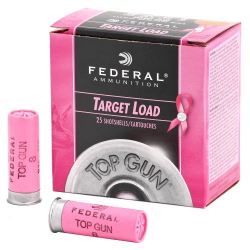 Display product reviews for Federal Premium® Top Gun® Target 12 Gauge 8 Shotshells