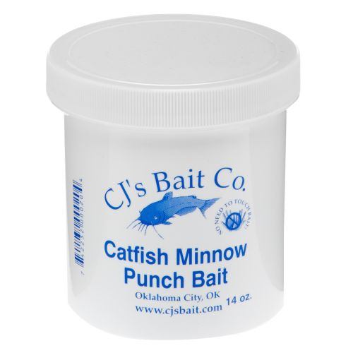 Display product reviews for CJ's Bait Company 14 oz. Catfish Minnow Punch Bait
