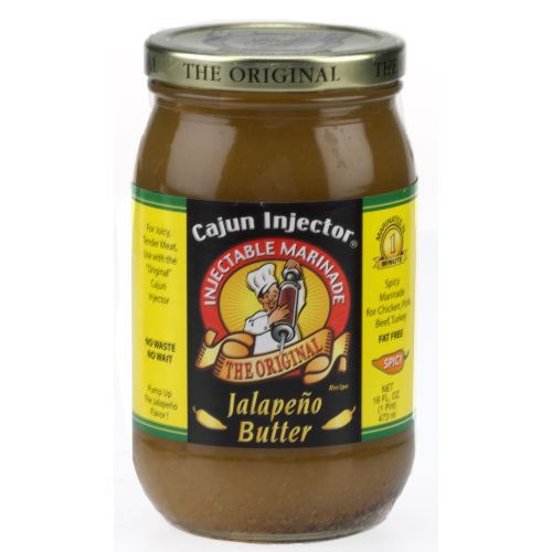 Display product reviews for Cajun Injector 16 oz. Jalapeno Butter Marinade Refill