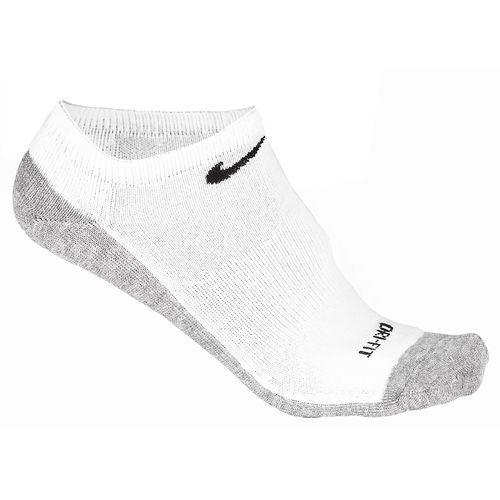 Nike Adults' Dri-FIT Half Cushion No-Show Socks 3-Pair