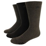 adidas Men's Casuals Crew Cushioned Socks 3-Pack