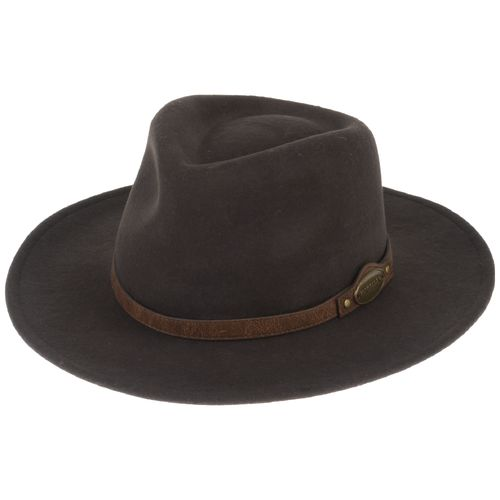 Magellan Outdoors  Men s Crush Wool Felt Outback Hat