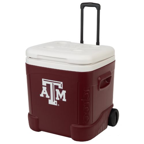 Igloo Texas A&M University Ice Cube™ 60 qt. Roller Cooler