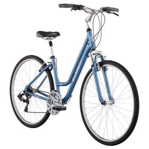 "Diamondback Women's Vital Sport Hybrid Bike with Small 15"" Frame"