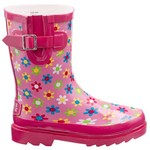 Stone Creek™ Girls' Flower Power Rubber Boots