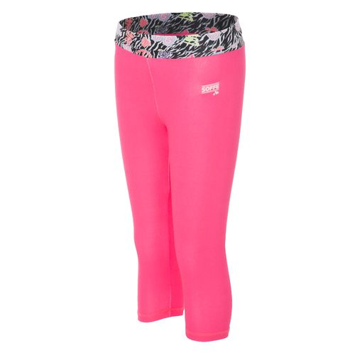 Soffe Girls' Skinny Gym Capri Pant