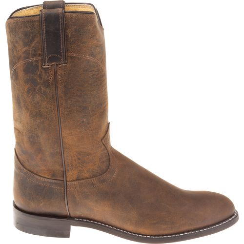 Display product reviews for Justin Men's Ropers Bay Apache Western Boots