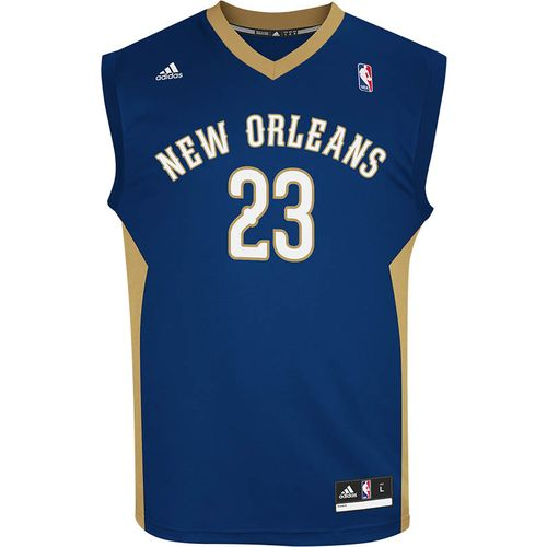 adidas Men's New Orleans Pelicans Anthony Davis No. 23 Revolution 30 Replica Jersey
