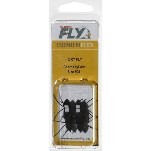 Superfly™ Chernobyl Ant Dry Flies 2-Pack