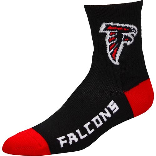 For Bare Feet Men's Atlanta Falcons Originals Team Quarter Socks