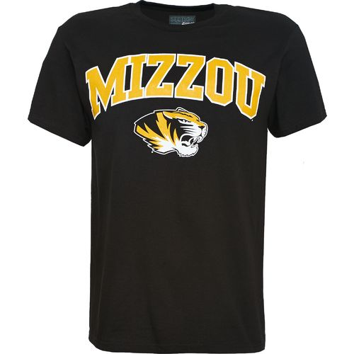 Image for Majestic Men's University of Missouri Section 101 Arch Mascot T-shirt from Academy