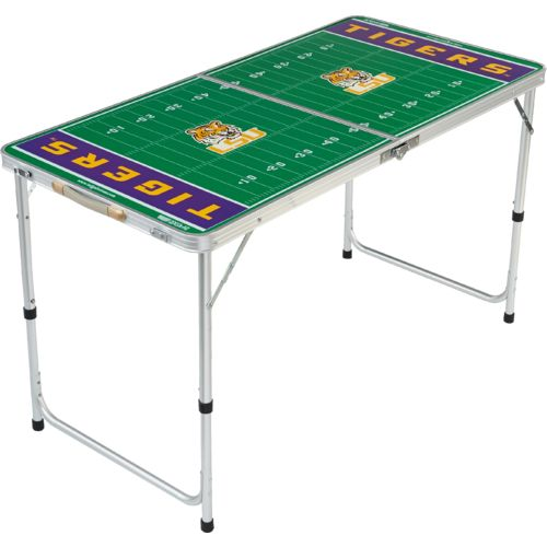 Wild Sports Louisiana State University 2' x 4' Licensed Tailgate Table