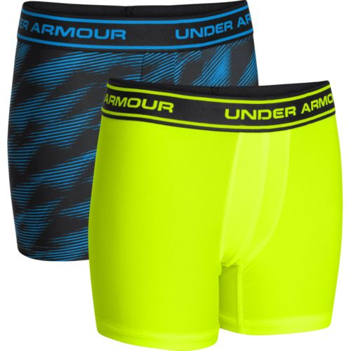 Under Armour  Boys  Original Series Novelty Boxer Jocks 2-Pack