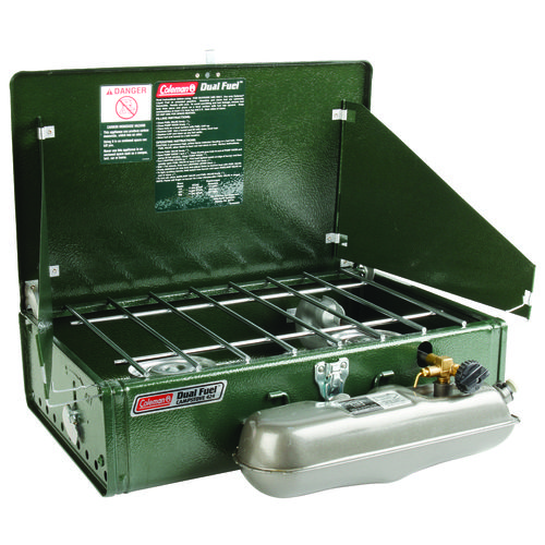 Coleman® Guide Series™ 2-Burner Dual-Fuel Stove