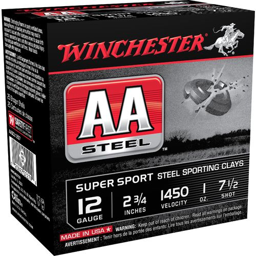Display product reviews for Winchester AA Super Sport Steel Sporting Clays 12 Gauge Shotshells