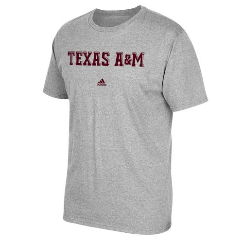 adidas Men's Texas A&M University Team Font T-shirt