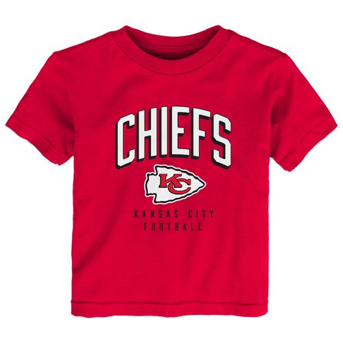 NFL Toddlers' Kansas City Chiefs Arch Standard Short Sleeve T-shirt