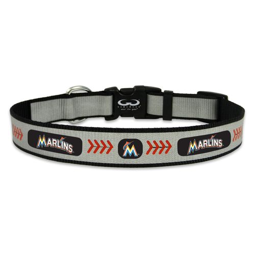 GameWear Miami Marlins Reflective Large Baseball Collar