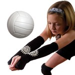 Tandem Sport Adults' Volleyball Passing Sleeves 2-Pack - view number 2